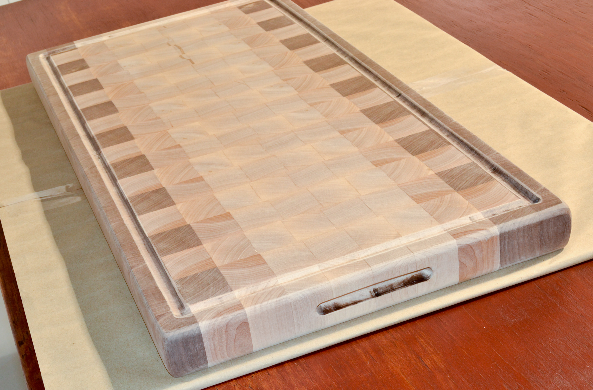 how to finish a wood cutting board?