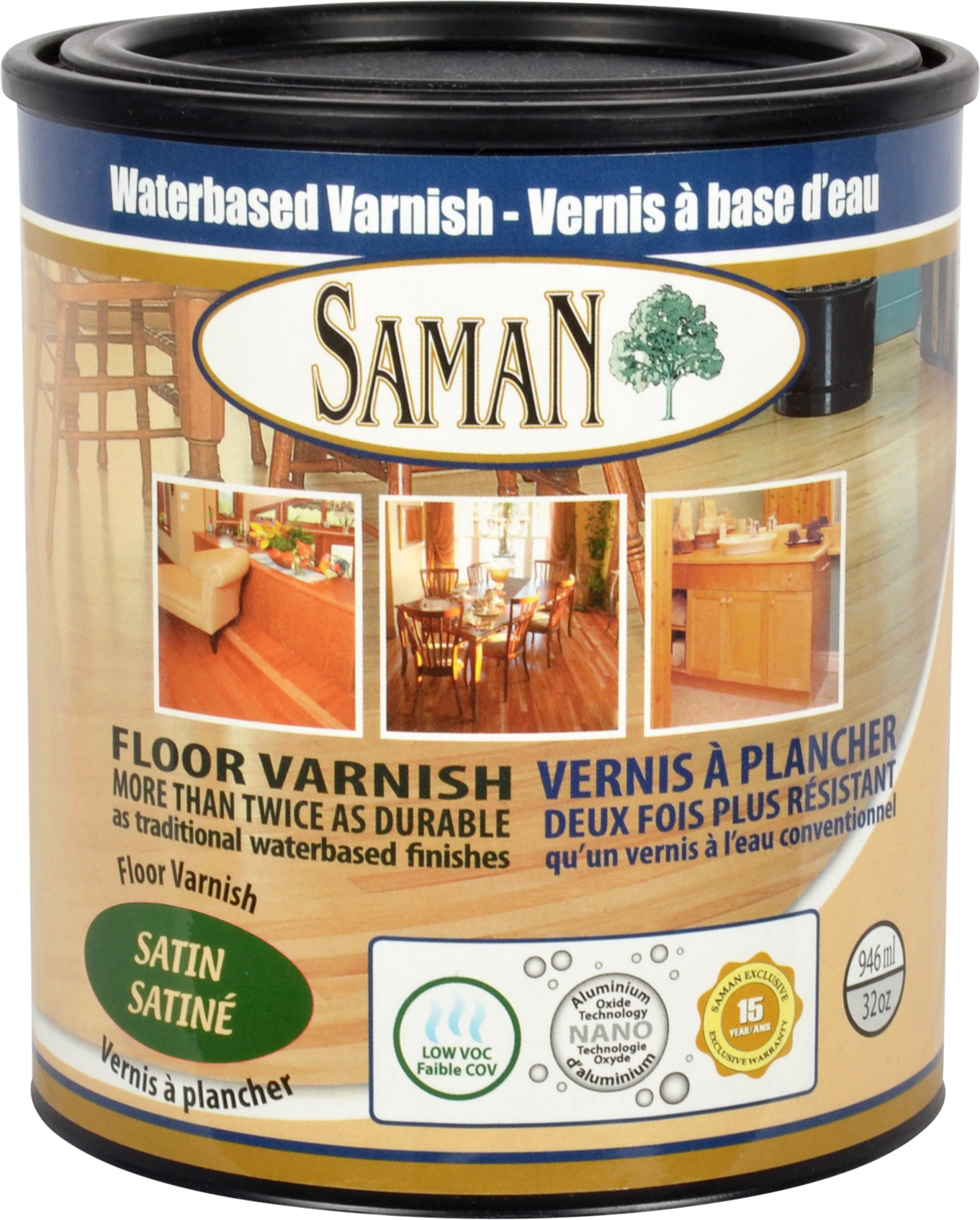SamaN Waterbased Varnish - SamaN - Ardec - Finishing Products