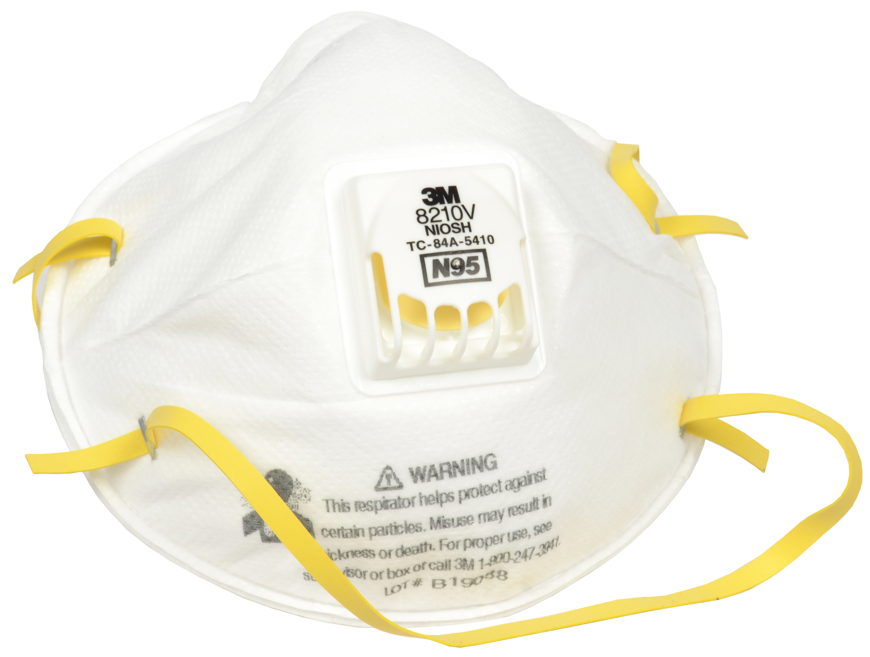 Respirator Particulate N95 Approved Niosh