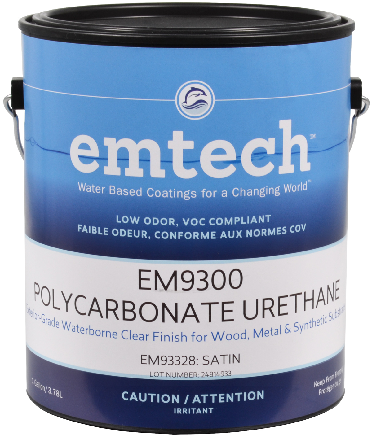 EM9300 Exterior Clear Polycarbonate Urethane Emtech By Target Coatings