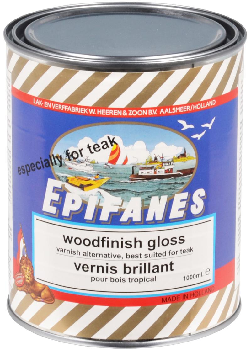 Vernis brillant pour bois tropical epifanes - Vernis colore pour bois ...