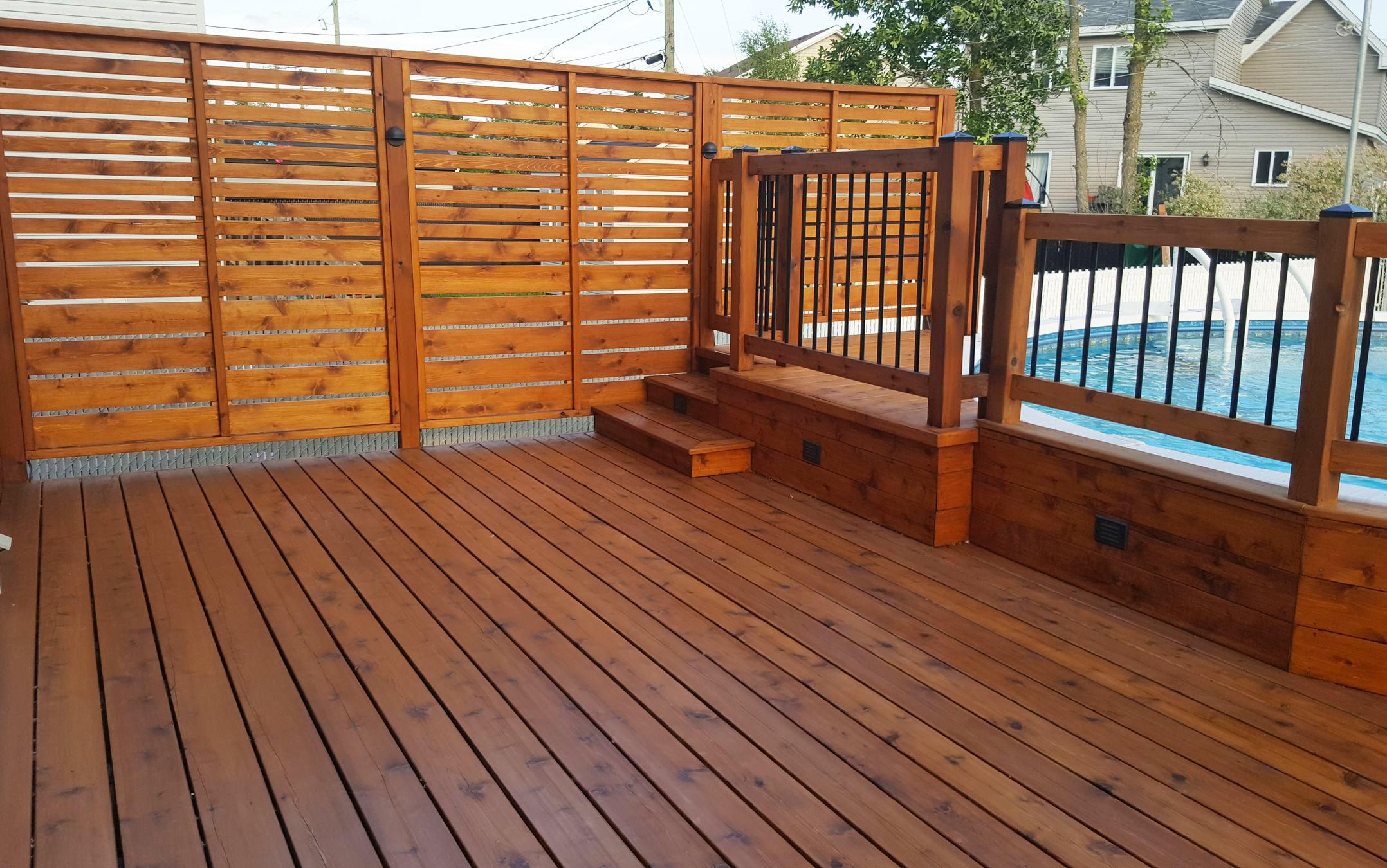 Pareo huile pour finition ext rieure prato verde huiles pour bois - Couleur de teinture pour patio ...