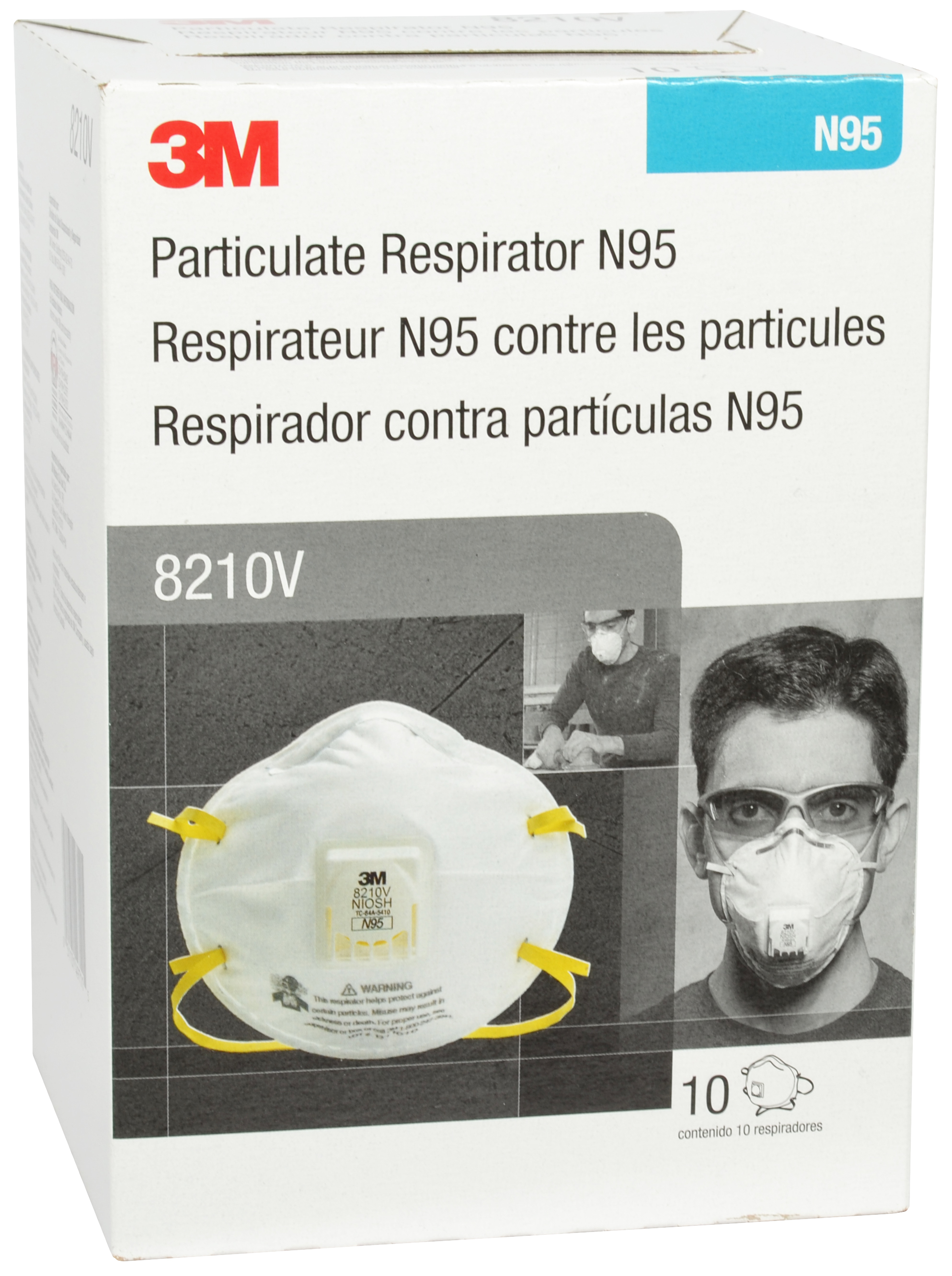 Respirator N95 Approved Particulate Niosh