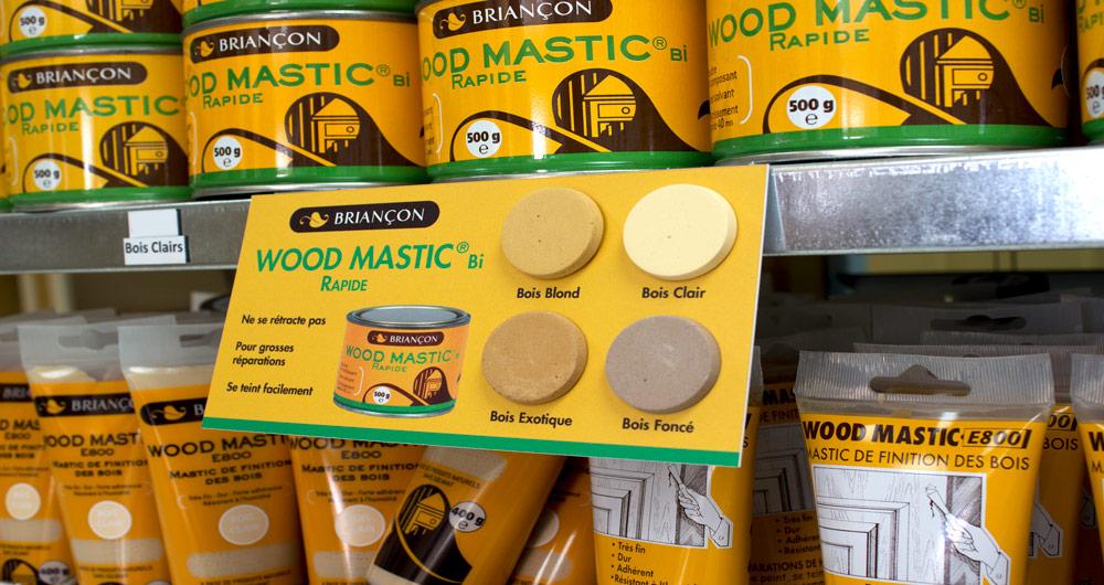 Wood Mastic Bi rapid