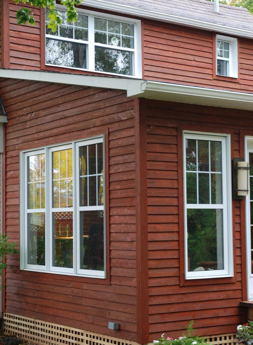 Finition pareo sur recouvrement de pr che for Recouvrement de patio en bois