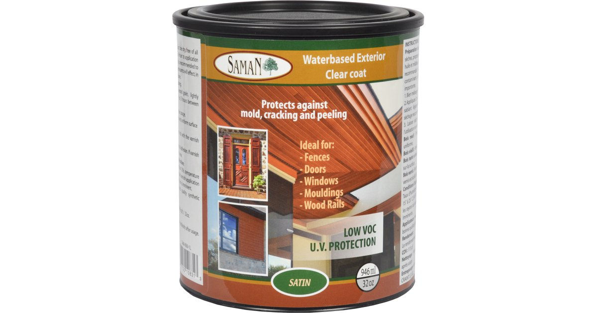 Waterbased Exterior Clear Coat