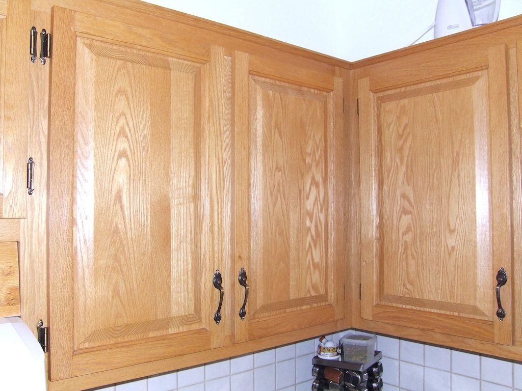 Armoires de cuisine en ch ne veines for Peinture porte armoire cuisine