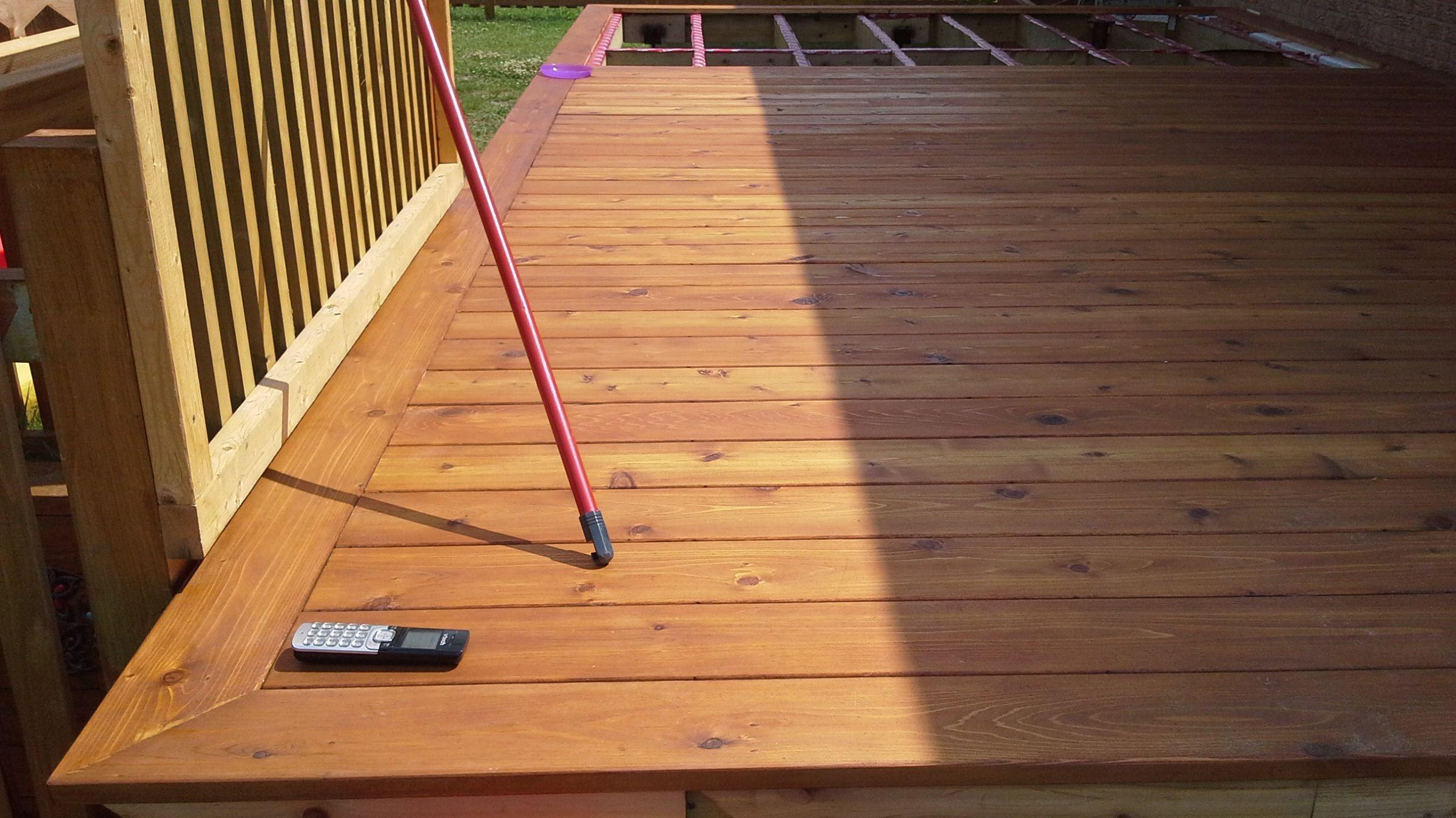 Patio cedre - Couleur de teinture pour patio ...