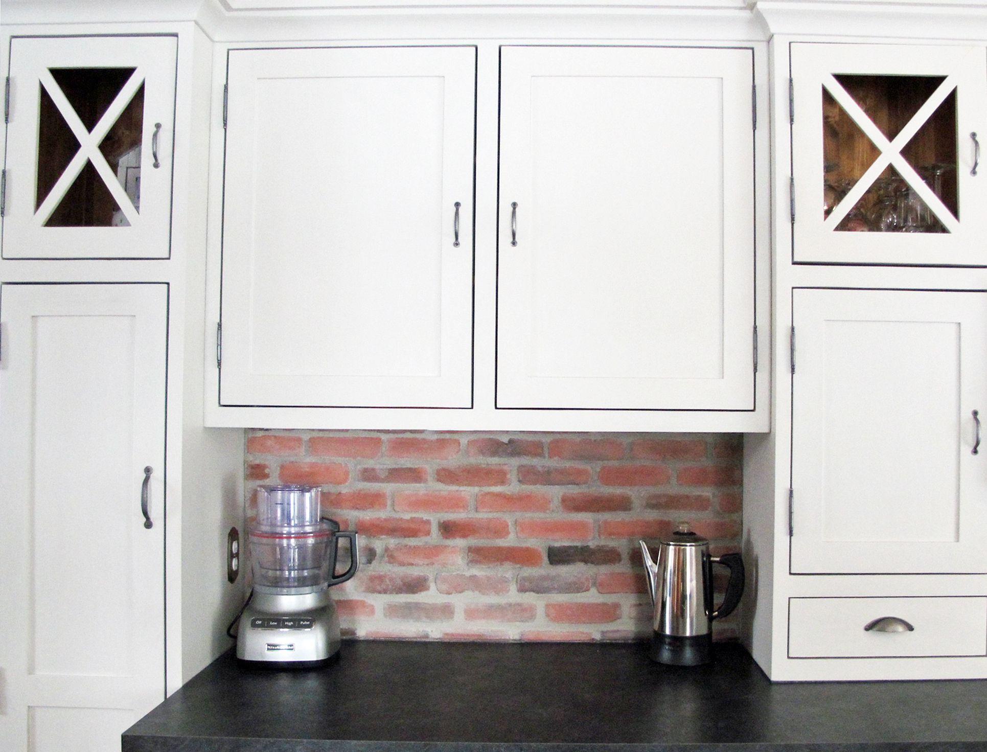 Armoires de cuisine ilot et garde manger finition ancienne antique - Garde manger fonctionnel cuisine ...