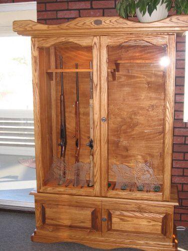 armoire carabine fini avec uno secondo. Black Bedroom Furniture Sets. Home Design Ideas