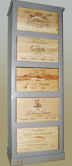 Meuble en palette de bois recycl - Blanchir un meuble en pin ...