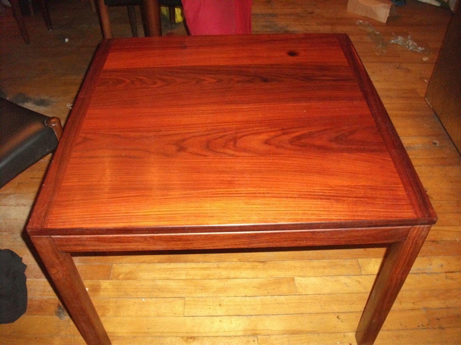 20a457e5aab5a1 J ai une table de salle à manger, une table à café et 6 chaises en bois de  rose (meubles danois), que dois je utiliser pour les entretenir