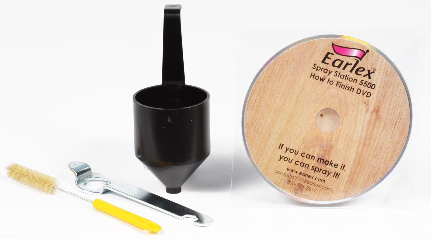 la station de peinture earlex 5500. Black Bedroom Furniture Sets. Home Design Ideas
