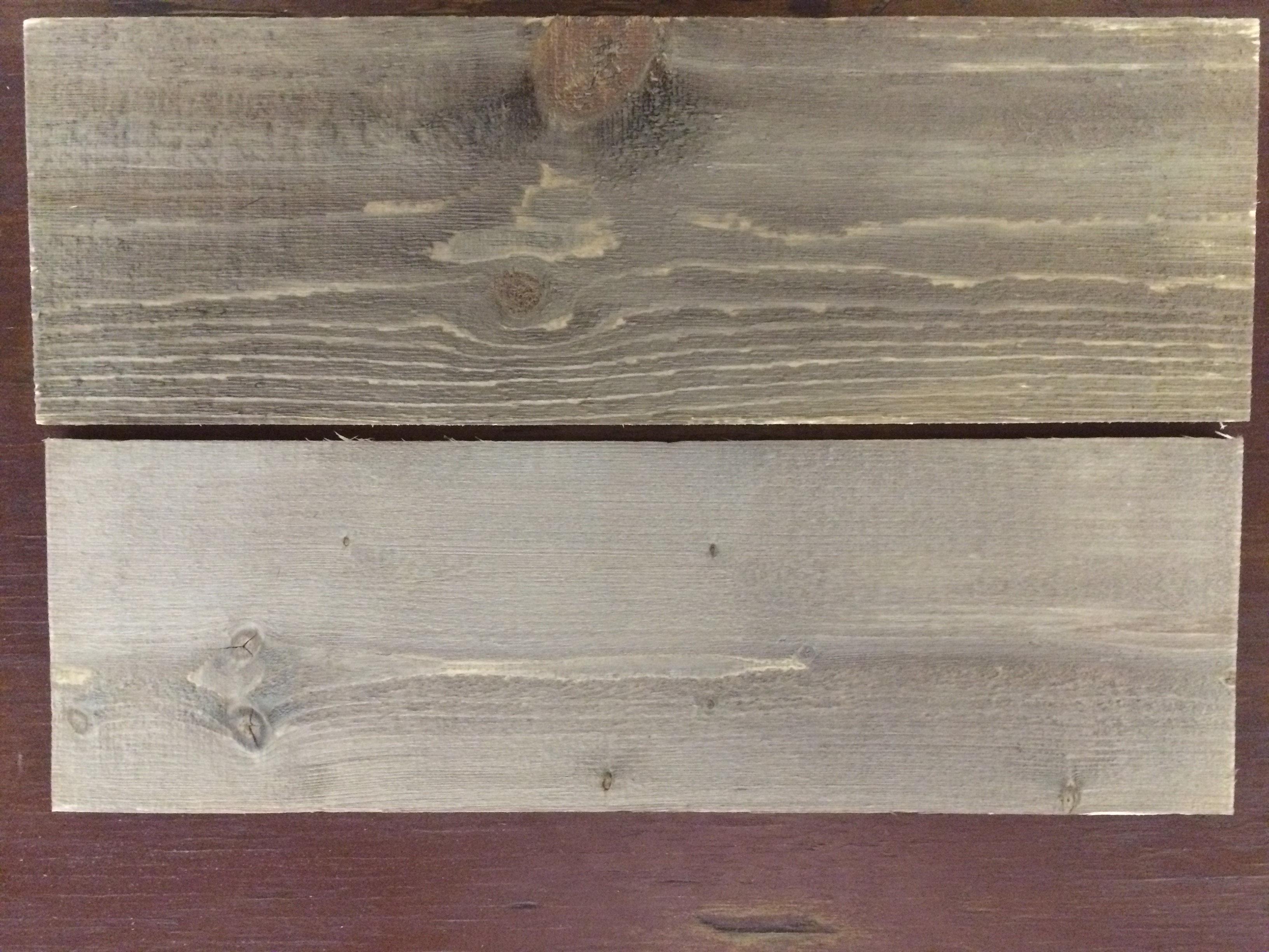 Peindre une table en bois en blanc vieilli - Vieillir une table en bois ...