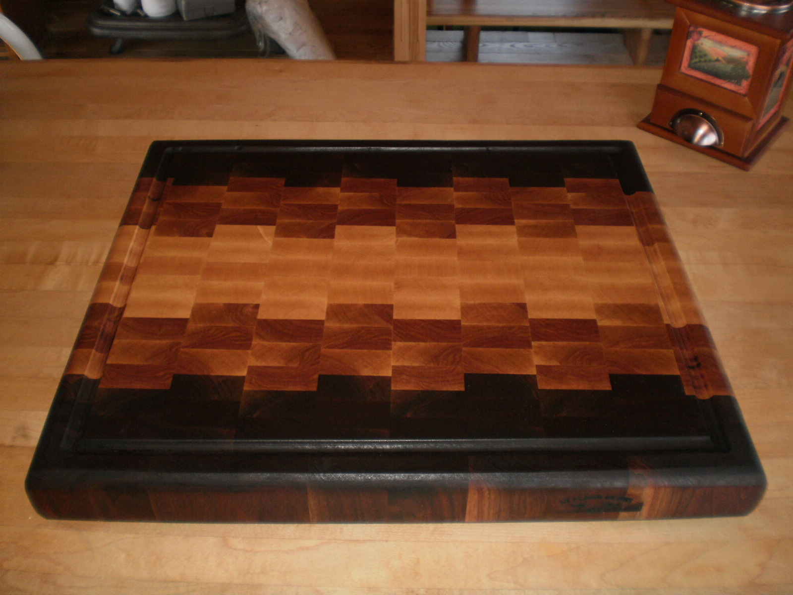 bloc boucher et planche de travail. Black Bedroom Furniture Sets. Home Design Ideas
